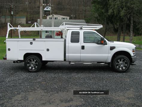 Ford Utility by 2008 Ford F350 Duty Utility Truck