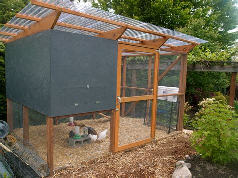 how do i make a chicken coop the chicken coop is done enough northwest edible life