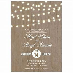 Under the lights lesbian wedding invitations paperstyle for Gay wedding shower invitations