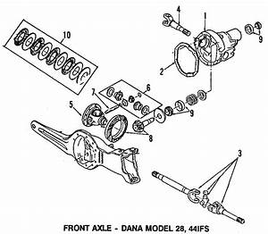 F3tz3219a - Ford Axle Shafts  Shaft