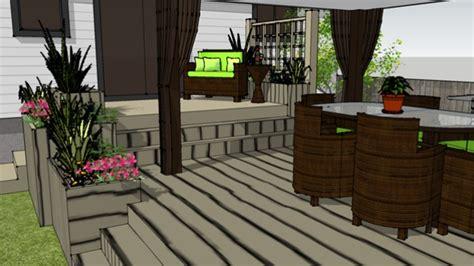 le patio de mme houle ceau