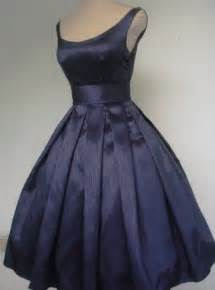 navy cocktail dress wedding 1950s style wedding the merry