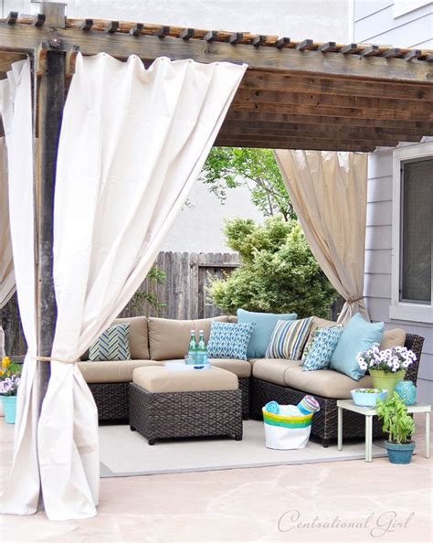 one day outdoor room makeover centsational