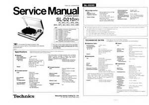 Technics Service Manual Filetype Pdf