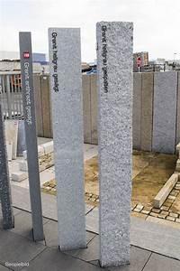 Granitsäule 250 Cm : palisaden granit hellgrau 20x20 cm gespalten naturstein baumaterial ~ Frokenaadalensverden.com Haus und Dekorationen