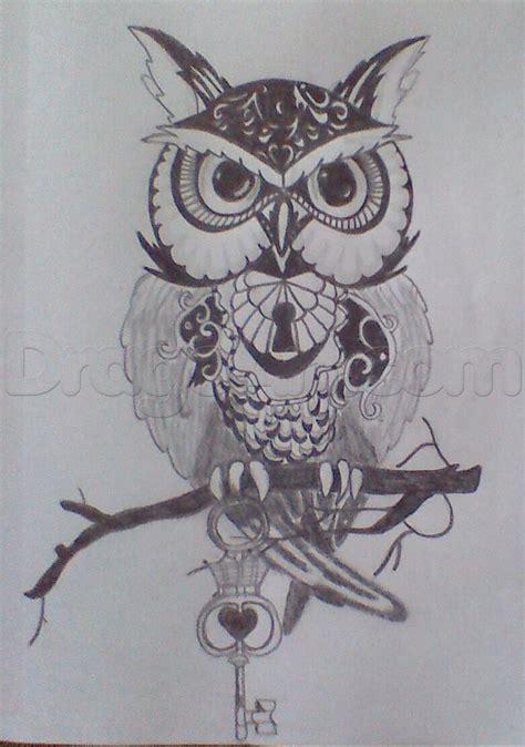 owl tattoo step  step tattoos pop culture