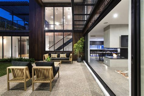 modern mixtures contemporary house  perth  great