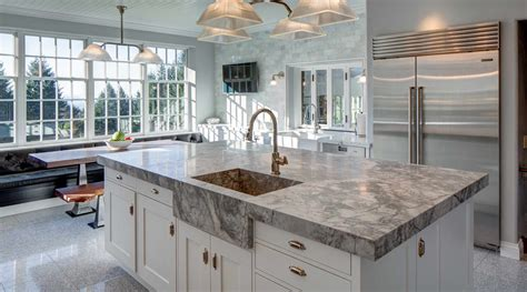 popular countertop materials  kitchen remodels