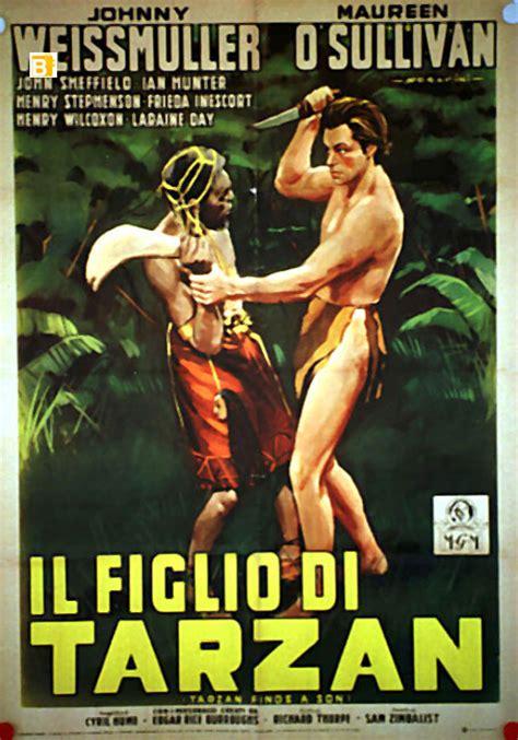 """""""figlio Di Tarzan, Il"""" Movie Poster  """"tarzan Finds A Son"""