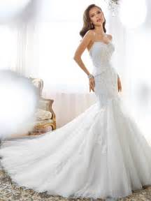 create a wedding dress mermaid wedding dress with sweetheart neckline and back corset