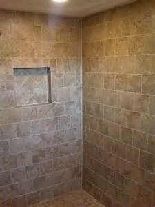 Ceramic Tile Shower Niche