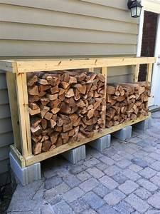 Firewood, Storage