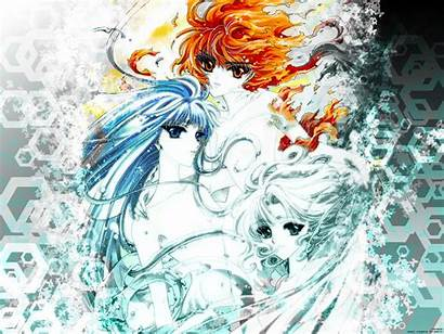 Magic Water Rayearth Knight Fire Wind Anime