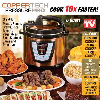 coppertech pressure pro deluxe pressure cooker