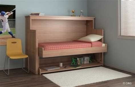 desk transforms into bed desk that turns into a bed how cool for the home