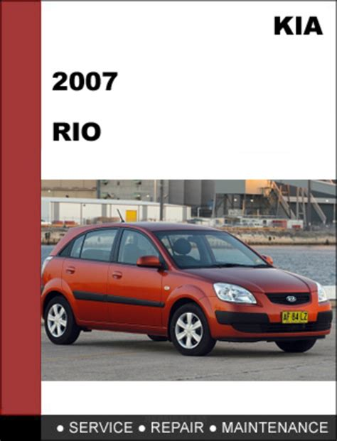 free service manuals online 2007 kia rio user handbook kia rio 2007 oem factory service repair manual download download