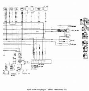 2002 Honda Shadow Sabre 1100 Wiring Diagram