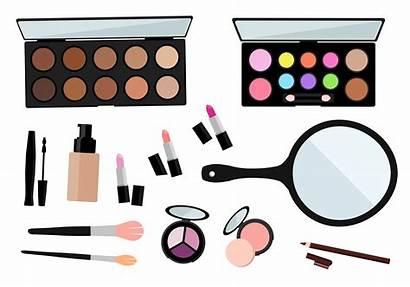 Makeup Vector Clipart Eye Cosmetics Closed Beauty