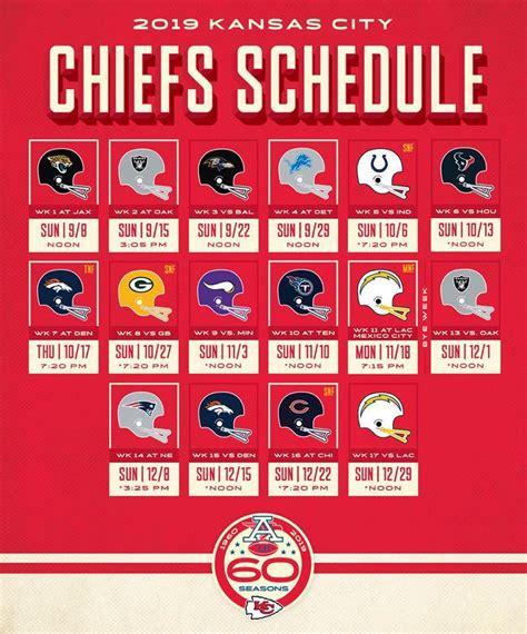regular season schedule finalized chiefs celebrate season