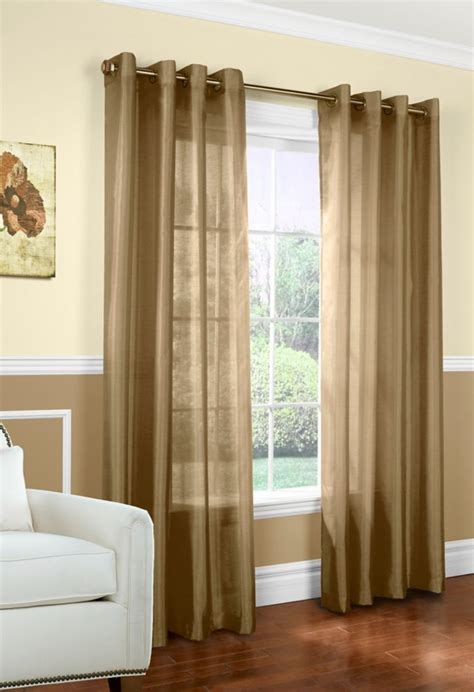 briana pole top panel taupe 48 inch x 84 inch 70547