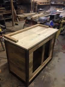 Plans For Building A Kitchen Island Diy Pallet Kitchen Hutch
