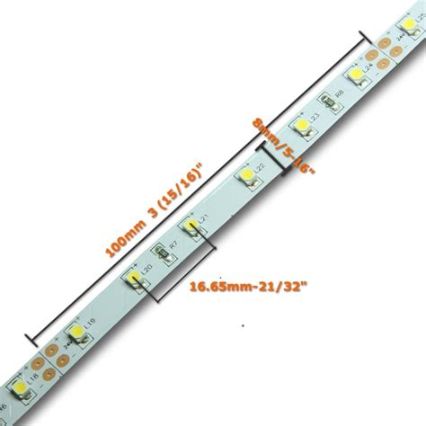 24v 4 metre 3528 warm white led light 240 led s