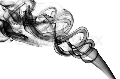 Abstract Black Smoke Png by Abstract Black Smoke Swirls The White Background