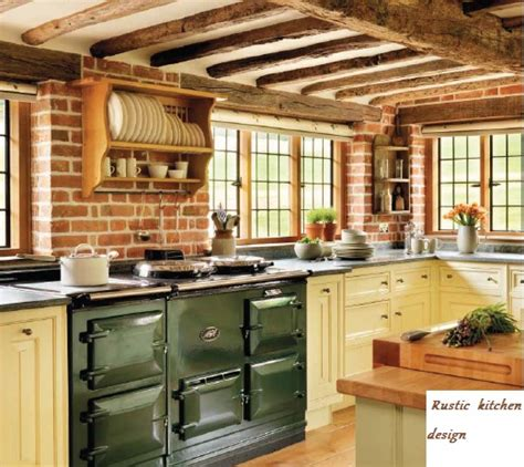 rustic country kitchens pictures bucătării rustice frumoase 4973