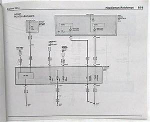2014 Ford Explorer Electrical Wiring Diagrams Manual