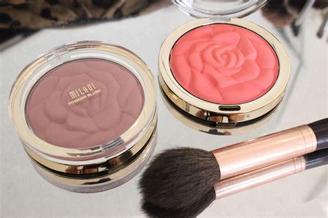 milani rose powder blush pop coral