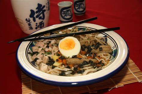 recettes cuisine japonaise recette japonaise soupe au ramen à ma façon