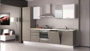 Cucina creo kitchens britt moderna polimerico opaco grigio cucine a prezzi scontati