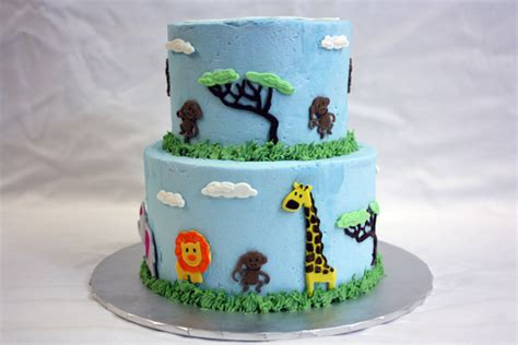 Animal Theme Baby Shower by Jungle Animal Baby Shower Around The World In 80 Cakes