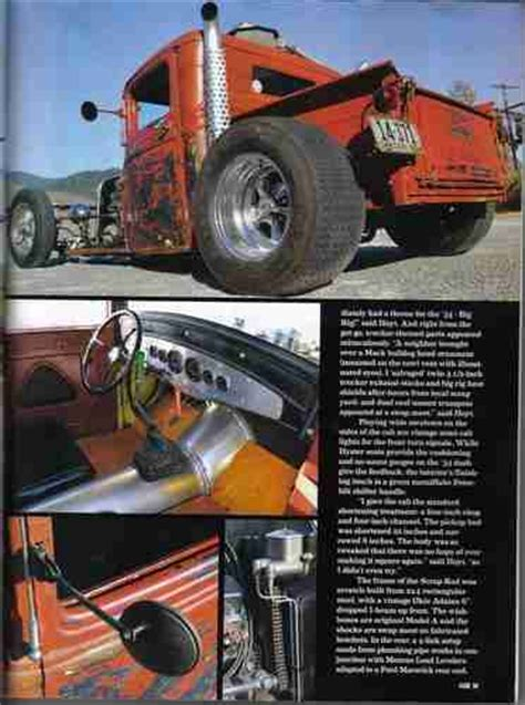 find  rat rod  ford pickup hot rod magazine car