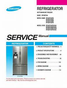 Samsung French Door Refrigerator Rfg297aa Service  U0026 Repair