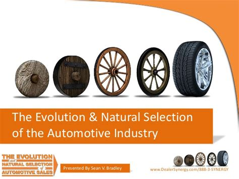 The Evolution & Natural Selection Of Automotive Sales