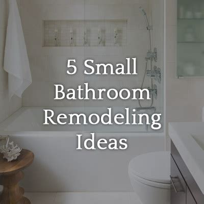 Small Bathroom Remodel Ideas On A Budget by 5 Small Bathroom Remodel Ideas On A Tight Budget