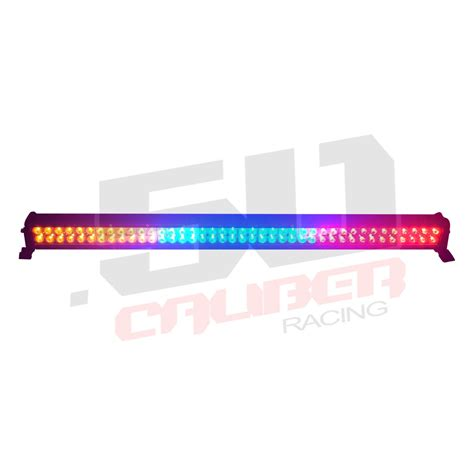 multicolor 42 inch led light bar with wireless