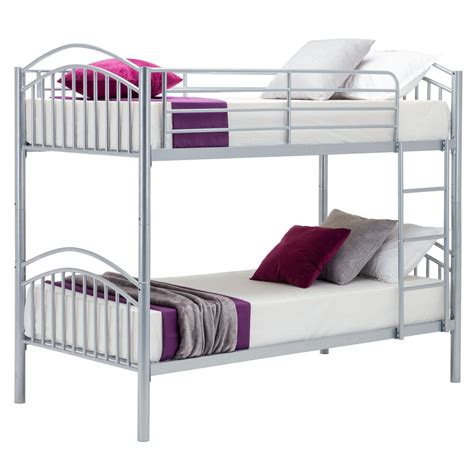 single futon frame metal bunk bed frame 2 person 3ft single for