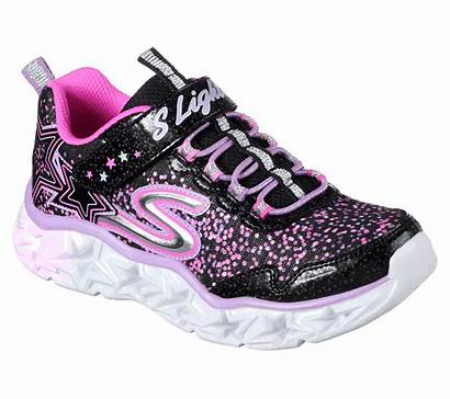 Skechers Lights Galaxy Shoes Multi Bungee Lace