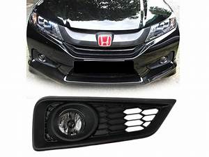 Clear Fog Light With Cover Wiring Switch Kit For Honda