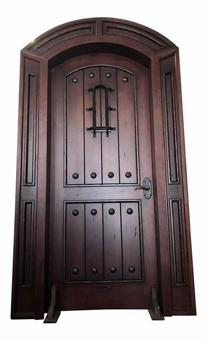 Spanish Door Arched Frame Mediterranean Doors Chairish
