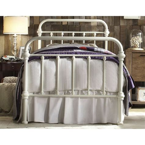 Vintage Iron Bed by Antique White Iron Metal Bed Frame Headboard