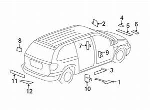 Chrysler Pacifica Label  Air  Bag  Fuel  Information