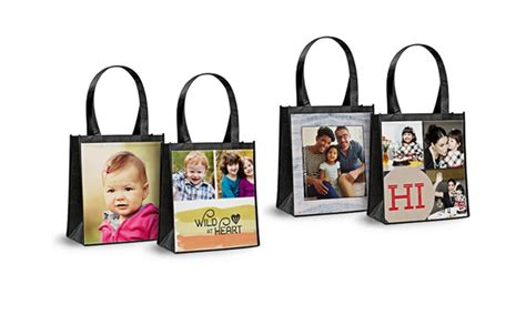 personalized reusable shopping bags  york photo groupon