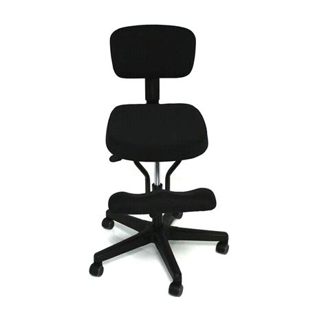 solace kneeling chair with back bp1442 kit jobri