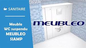 meuble pour wc suspendu meubleo siamp youtube With meuble wc