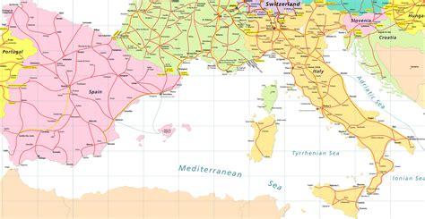 map  spain france  italy imsa kolese