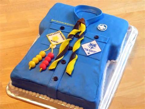 cub scout blue gold banquet cake gluesticks