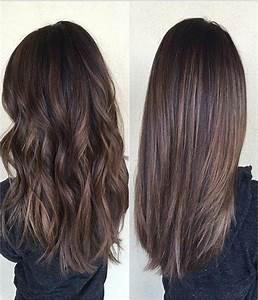Couleur Cheveux Tendance 2017 : id e tendance coupe coiffure femme 2017 2018 couleur ~ Melissatoandfro.com Idées de Décoration